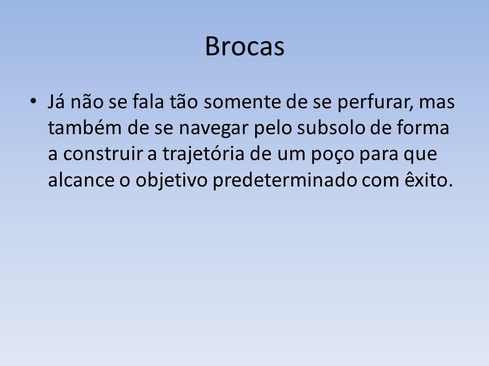 Brocas Impregnadas Broca impregnada é a evolução da broca de diamante.