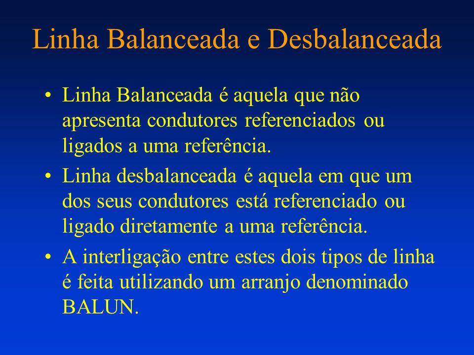 Para que isto seja possível, a impedândia de balanceamento deve ser calculada para, evitar o descasamento, no Brasil, recomenda-se: Rs Rp C Zbc