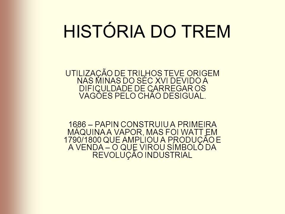 HISTÓRIA DO TREM 1801 – TREVITHNICK PROJETOU A LOCOMOTIVA QUE ARRASTAVA CINCO VAGÕES COM 70 HOMENS E DEZ TONELADAS DE FERRO.- A MAQUINA NÃO TEVE O SUCESSO ESPERADO, POIS OS TRILHOS ERAM CONSTRUIDOS DE MADEIRA E O PESO DAS CARGAS QUEBRAVAM AS VIAS DOS TRENS.