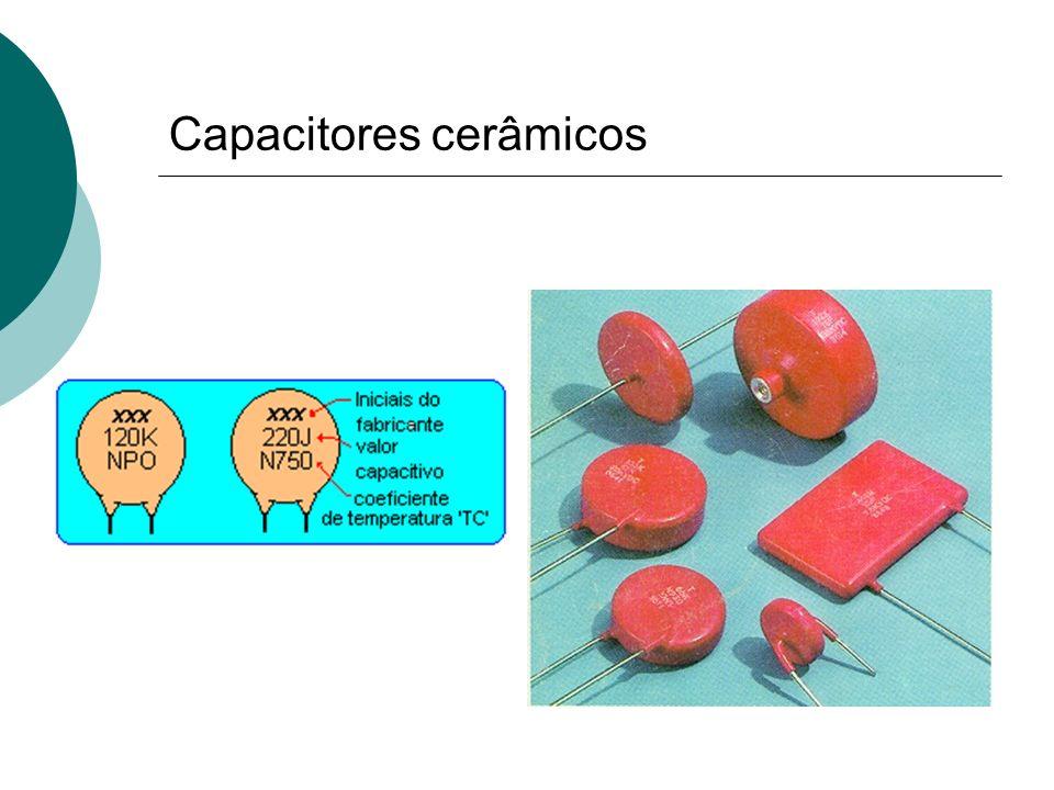 Capacitores cerâmicos