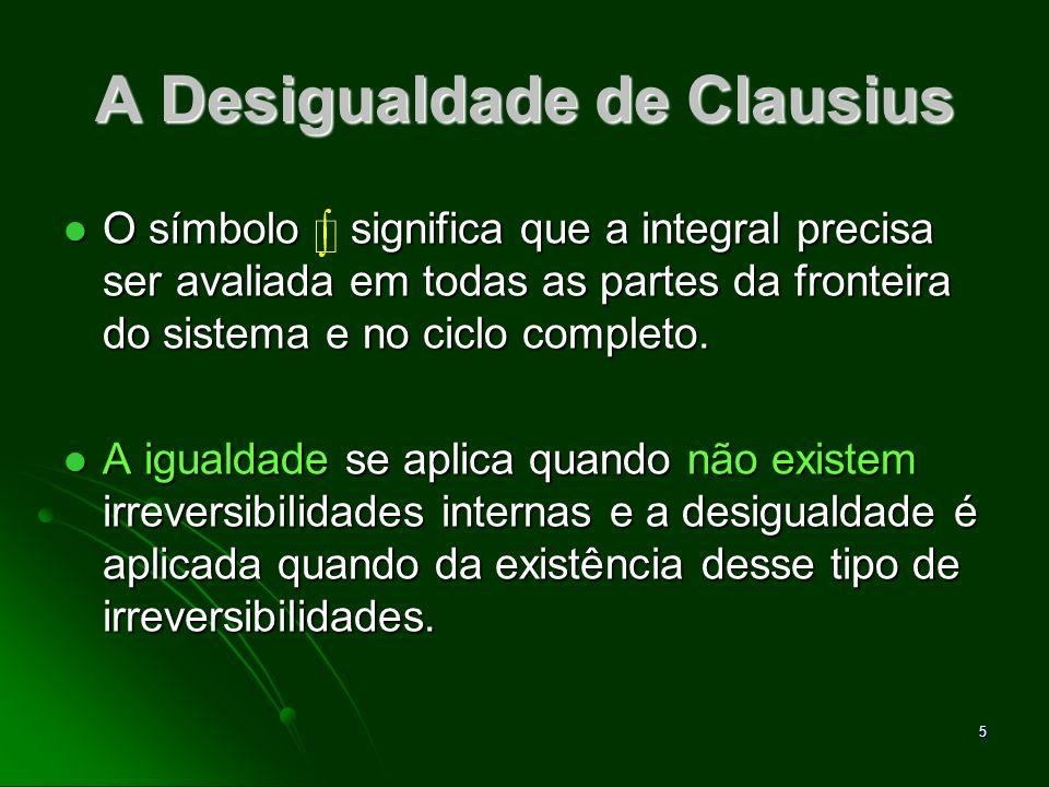 6 Ilustração usada para mostrar a desigualdade de Clausius
