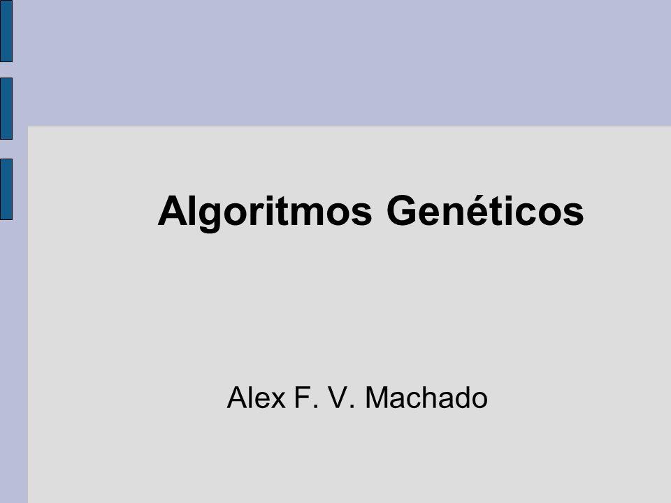 Aplicações Existem muitos problemas práticos aos quais técnicas determinísticas tradicionais não podem ser aplicadas Técnicas tradicionais têm natureza serial Algoritmos Genéticos têm natureza paralela