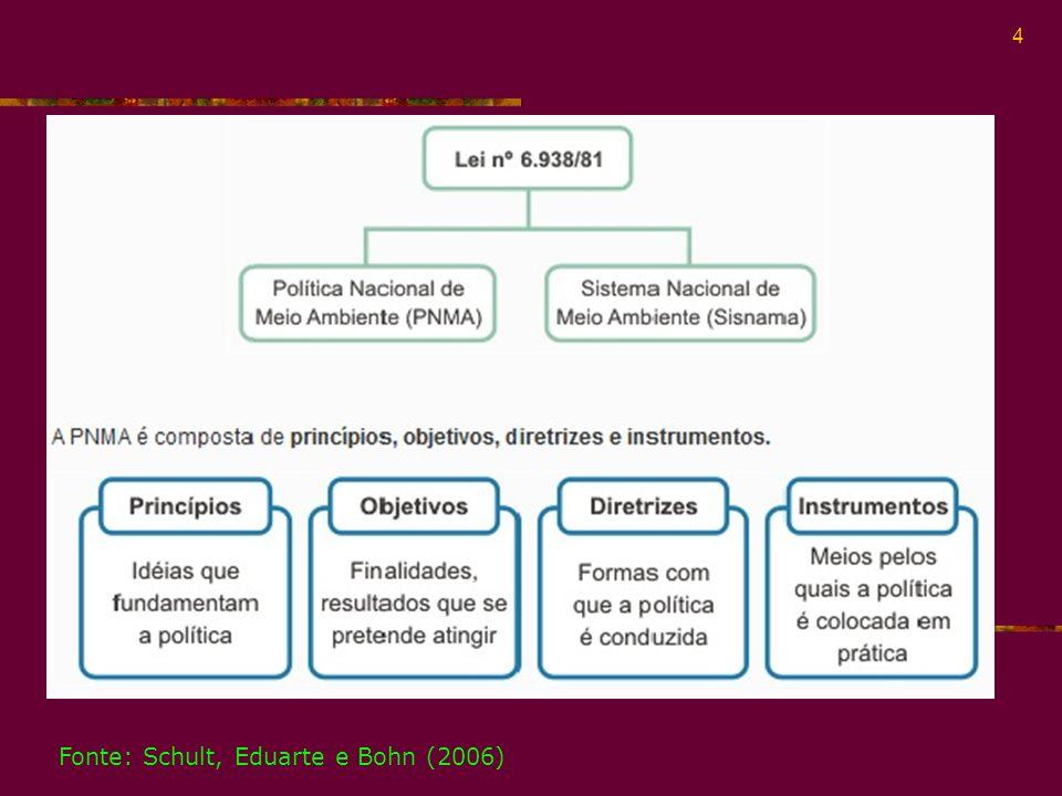 5 Os princípios que fundamentam a PNMA são os seguintes: - idéias que fundamentam a política