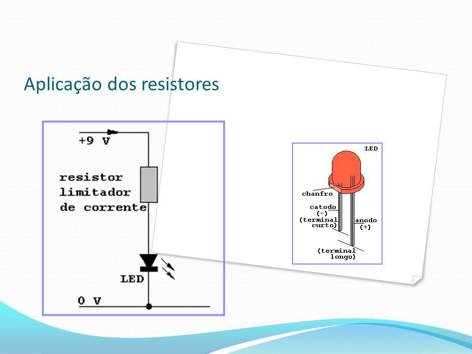 Constituição do Resistor A resistência elétrica é diretamente proporcional ao comprimento do condutor A resistência elétrica é inversamente proporcional à seção transversal do condutor A resistência elétrica depende do material do condutor.