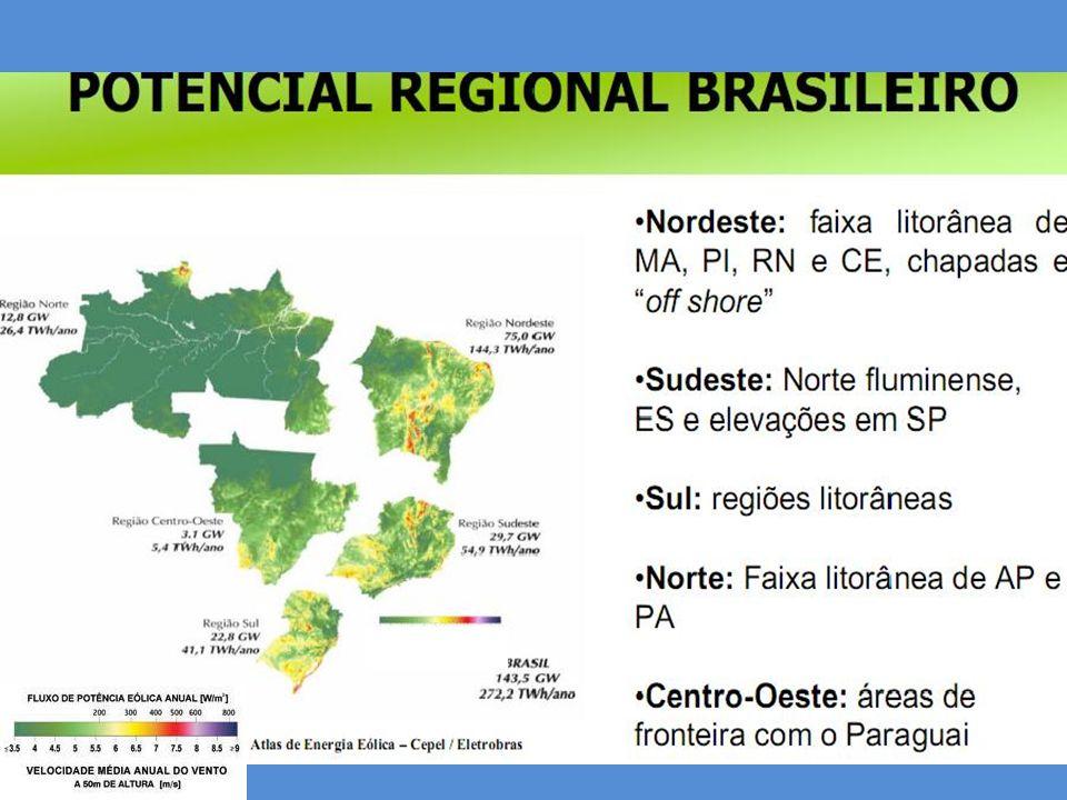 21 Um estudo realizado pela Associação Brasileira de Energia Eólica com base em usinas implantadas entre 2007 e 2010 comprova a característica da complementariedade entre usinas eólicas e fontes hídricas (UHEs e PCHs).