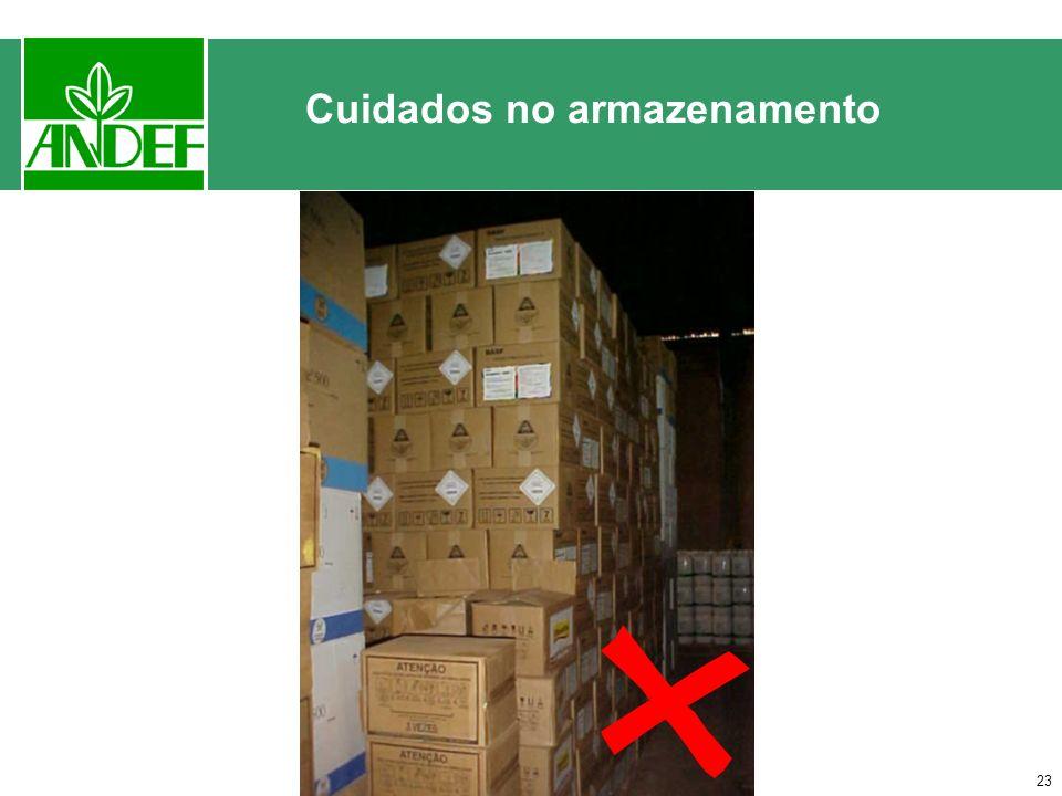 22 Cuidados no armazenamento