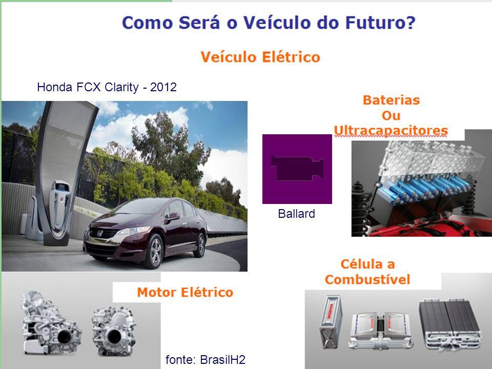 Ballard Honda FCX Clarity - 2012