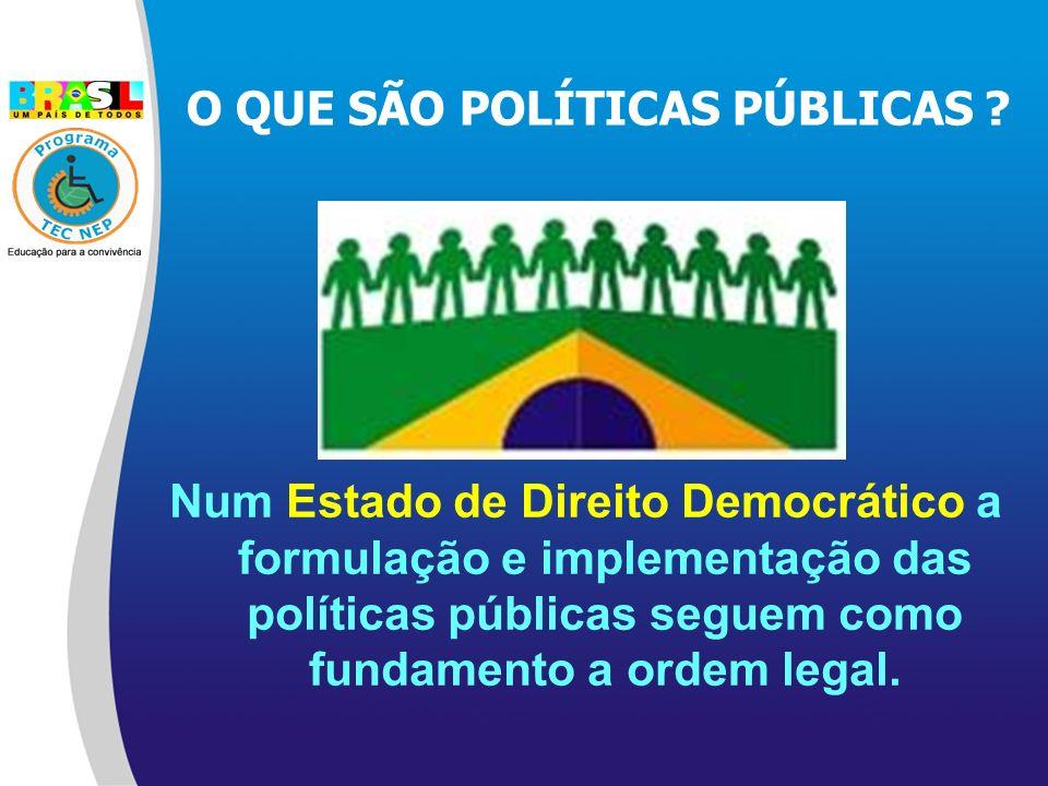 O QUE SÃO POLÍTICAS PÚBLICAS .