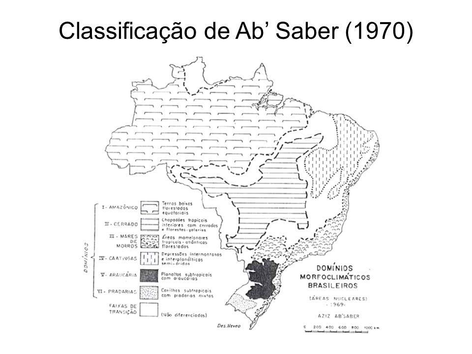 Classificação de Ab Saber (1970)