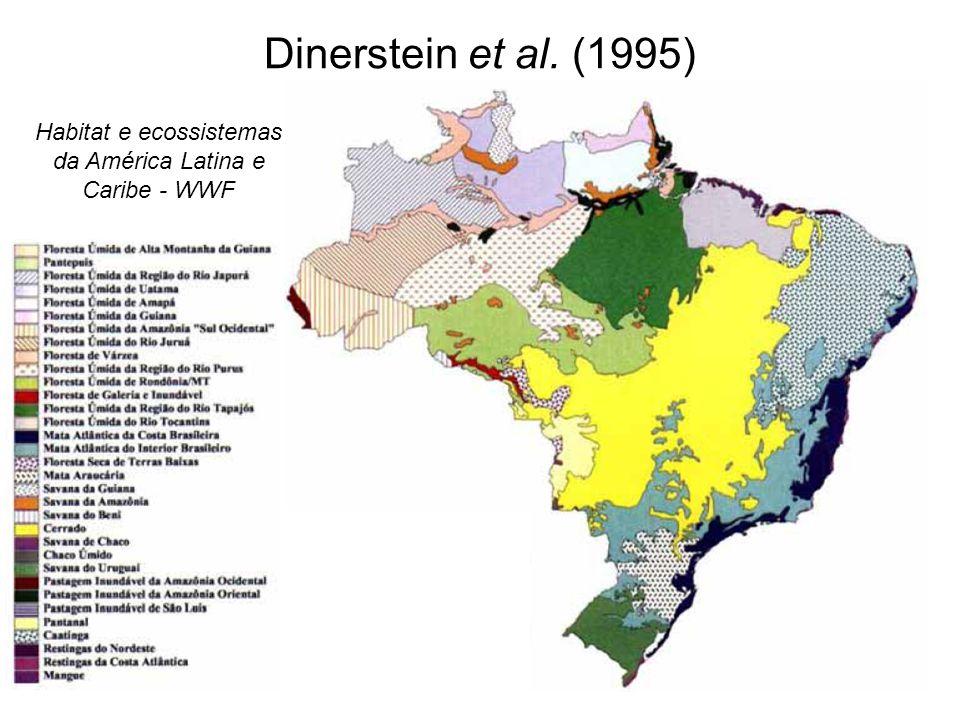 Dinerstein et al. (1995) Habitat e ecossistemas da América Latina e Caribe - WWF