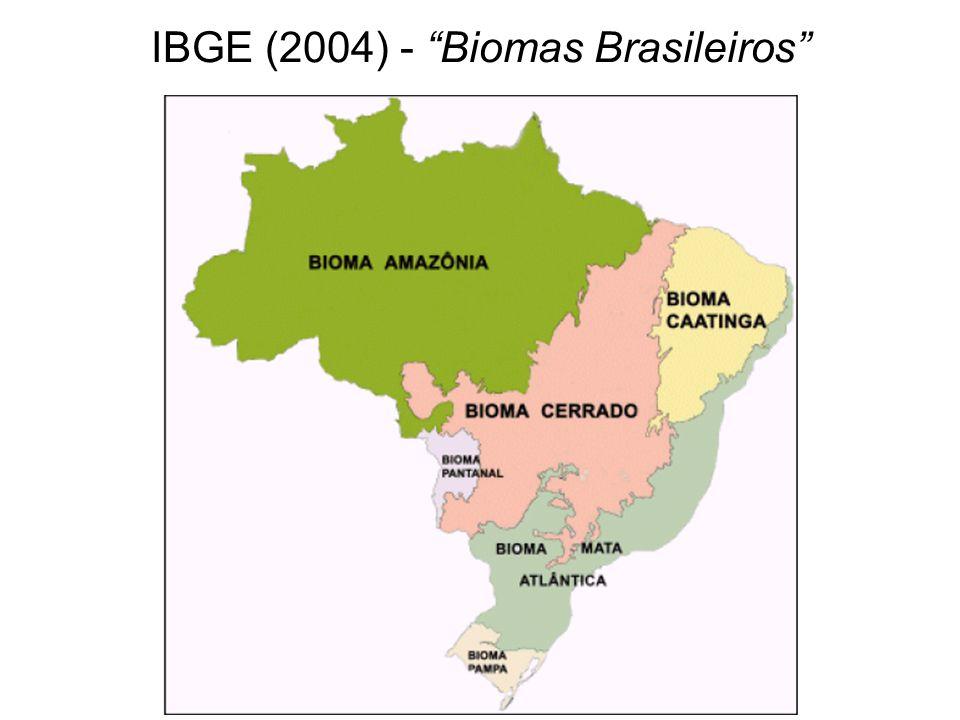 IBGE (2004) - Biomas Brasileiros