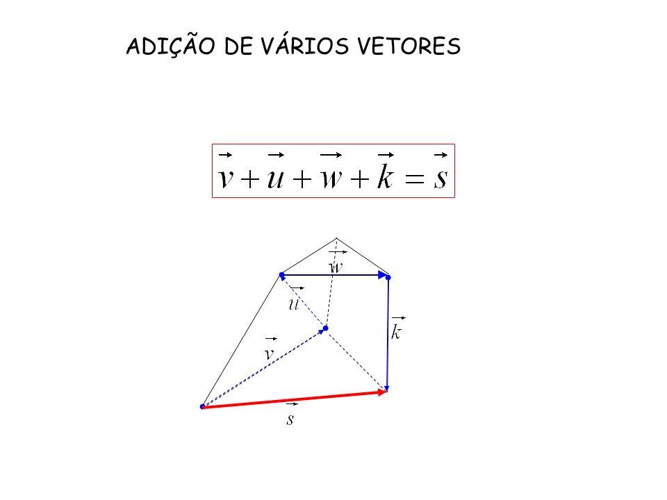 ADIÇÃO DE VÁRIOS VETORES