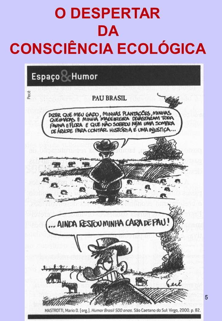 15 O DESPERTAR DA CONSCIÊNCIA ECOLÓGICA