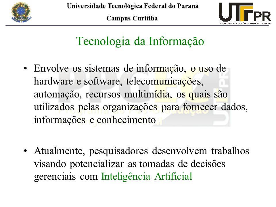 Universidade Tecnológica Federal do Paraná Universidade Tecnológica Federal do Paraná Campus Curitiba Campus Curitiba