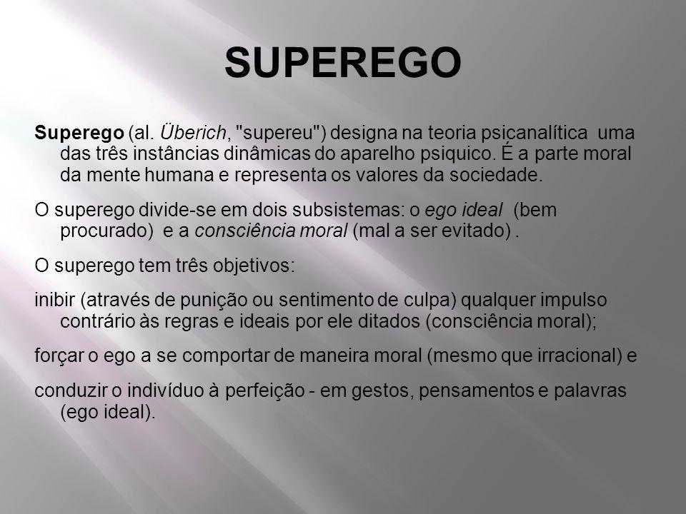 SUPEREGO Superego (al. Überich,
