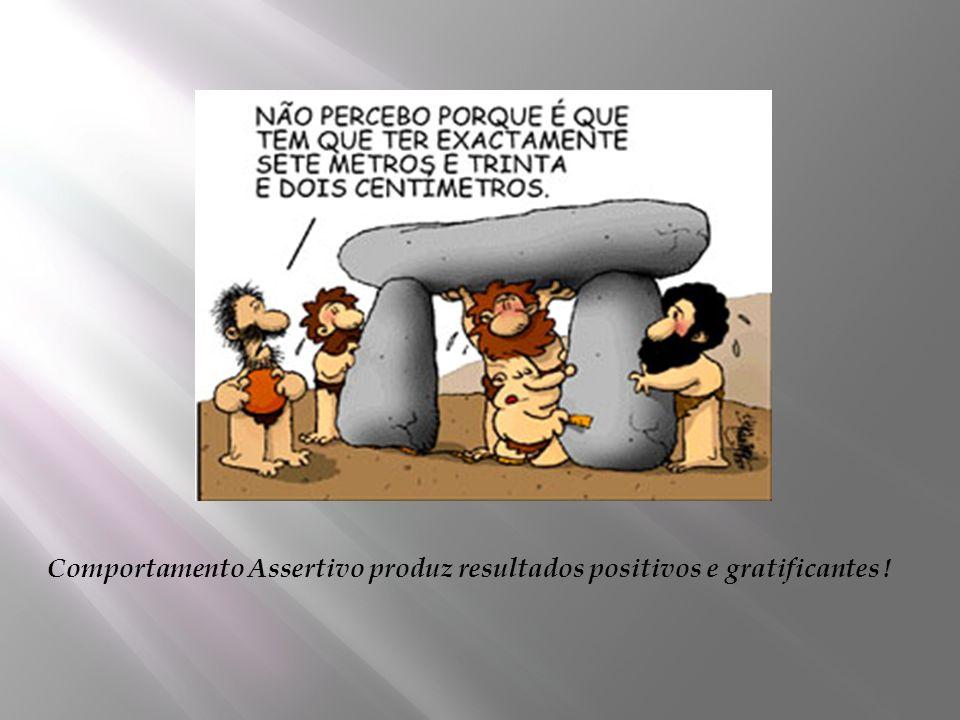 Comportamento Assertivo produz resultados positivos e gratificantes !