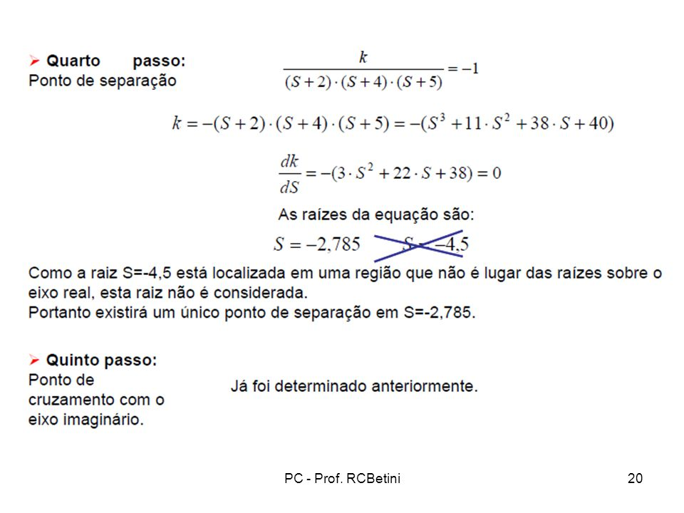 PC - Prof. RCBetini20