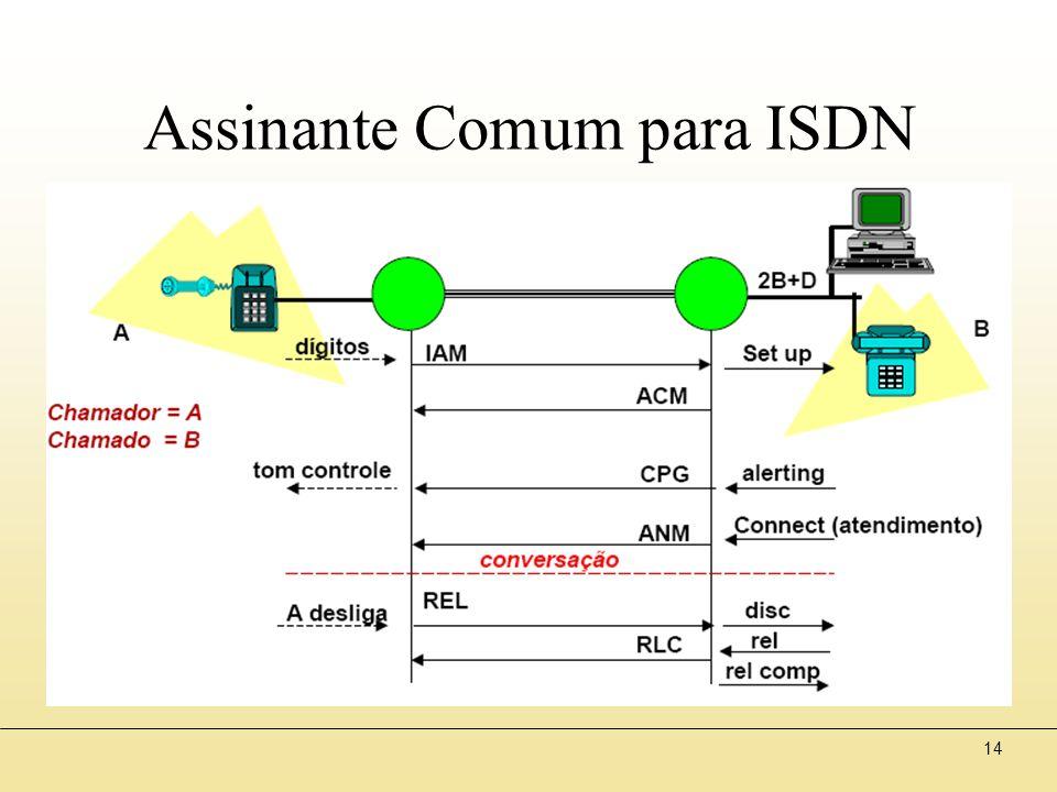14 Assinante Comum para ISDN