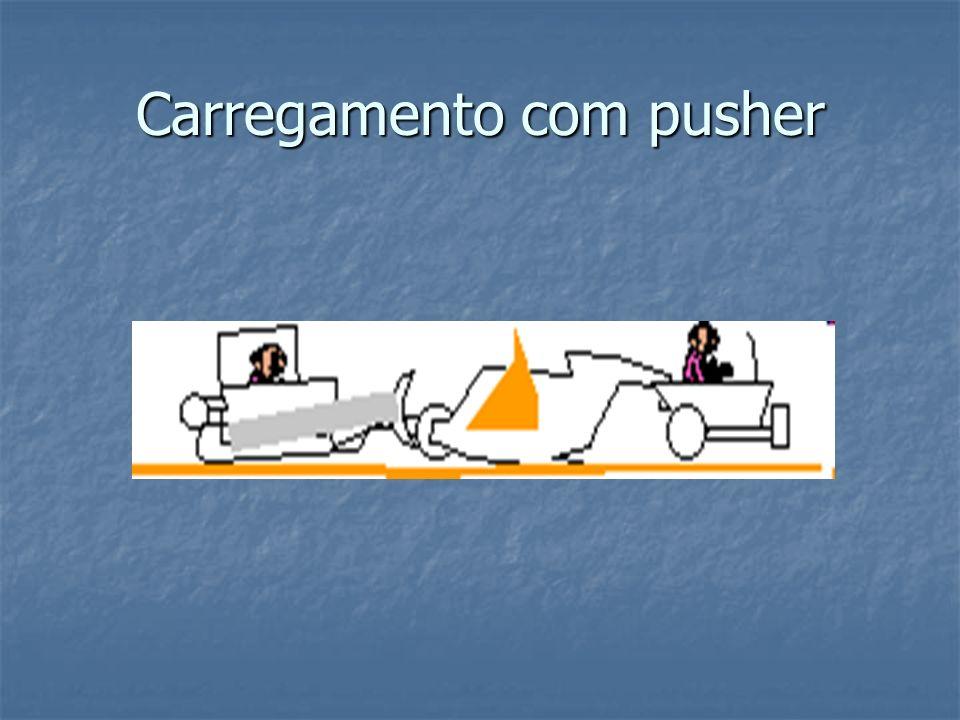 Carregamento com pusher