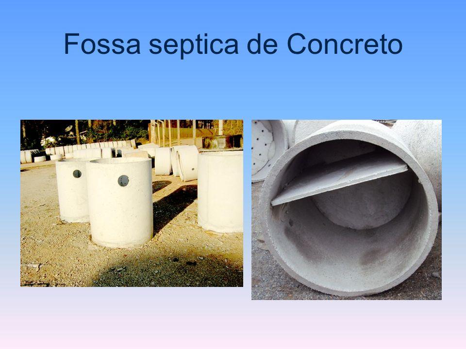 Fossa septica de Concreto