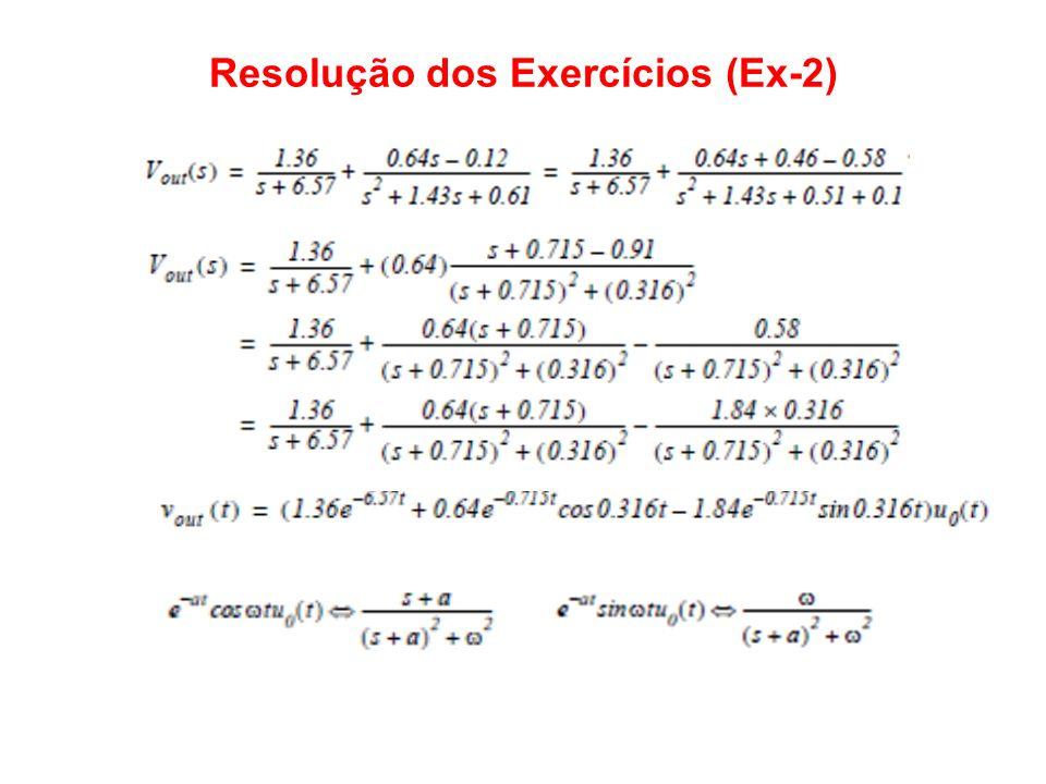 Resolução dos Exercícios (Ex-2)