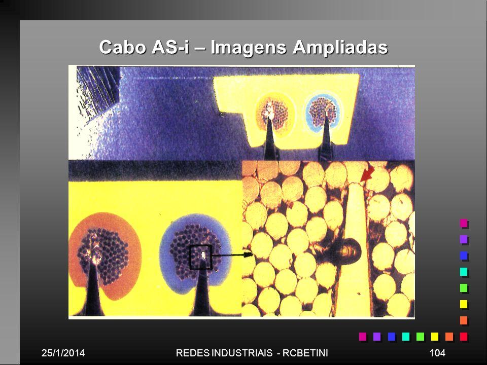 Cabo AS-i – Imagens Ampliadas 25/1/2014104REDES INDUSTRIAIS - RCBETINI