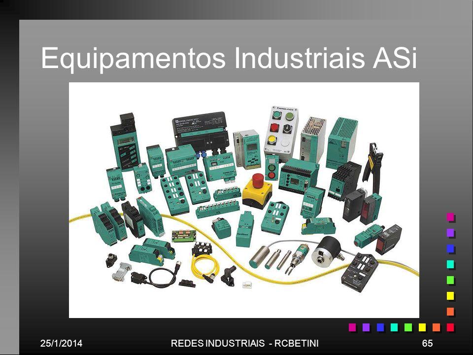 25/1/201465REDES INDUSTRIAIS - RCBETINI Equipamentos Industriais ASi