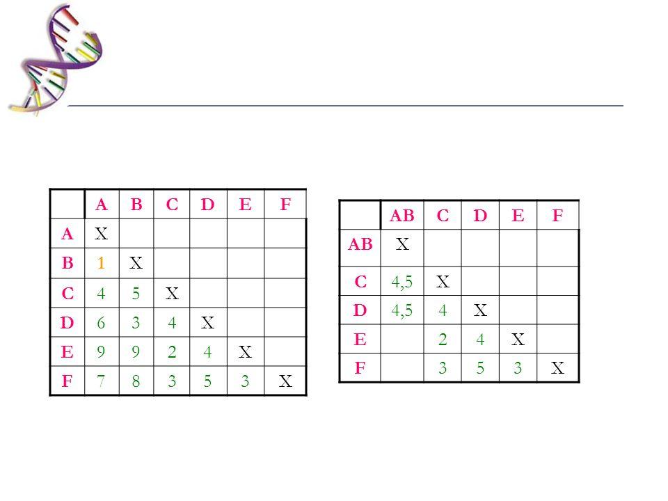 ABCDEF X C4,5X D 4X E24X F353X ABCDEF AX B1X C45X D634X E9924X F78353X
