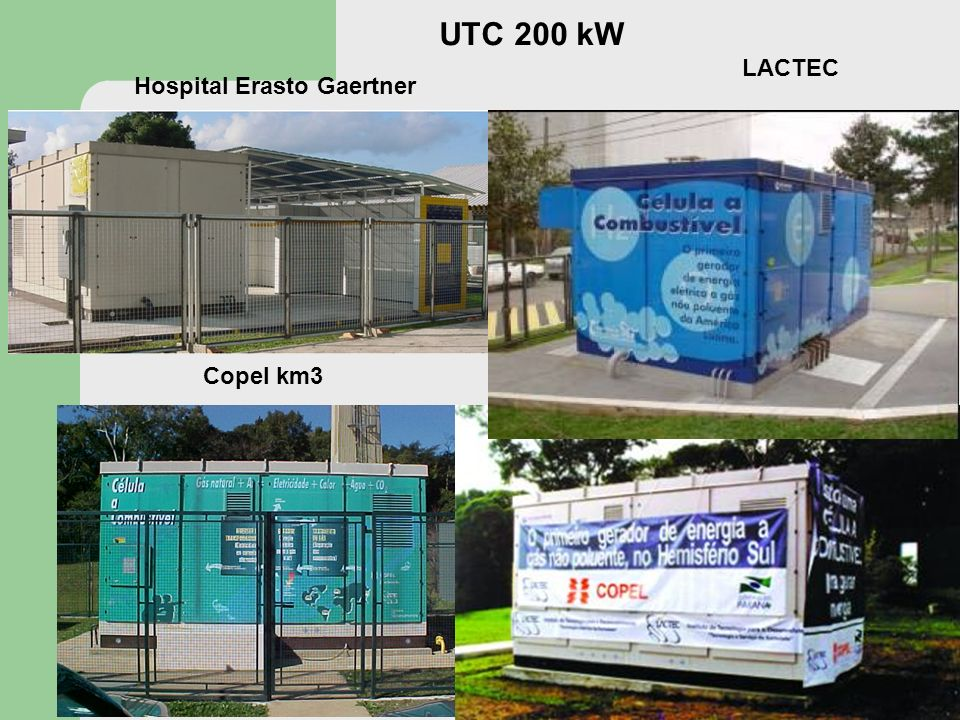 LACTEC Hospital Erasto Gaertner Copel km3 UTC 200 kW