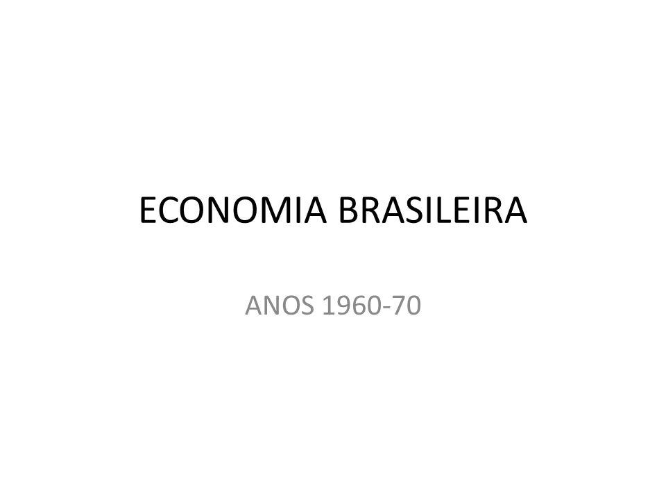 ECONOMIA BRASILEIRA ANOS 1960-70