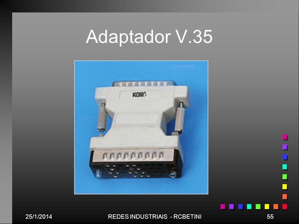 25/1/201455REDES INDUSTRIAIS - RCBETINI Adaptador V.35