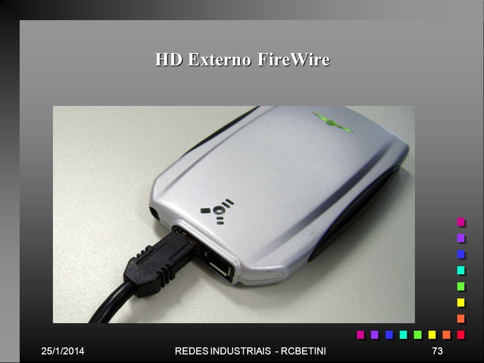HD Externo FireWire 25/1/201473REDES INDUSTRIAIS - RCBETINI