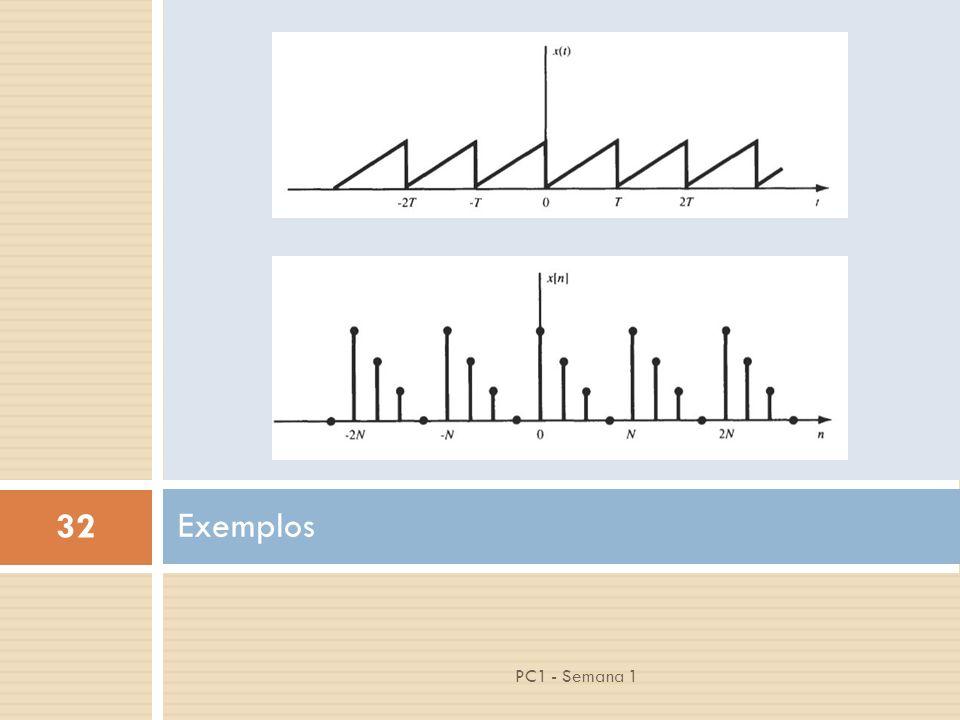 32 PC1 - Semana 1 Exemplos
