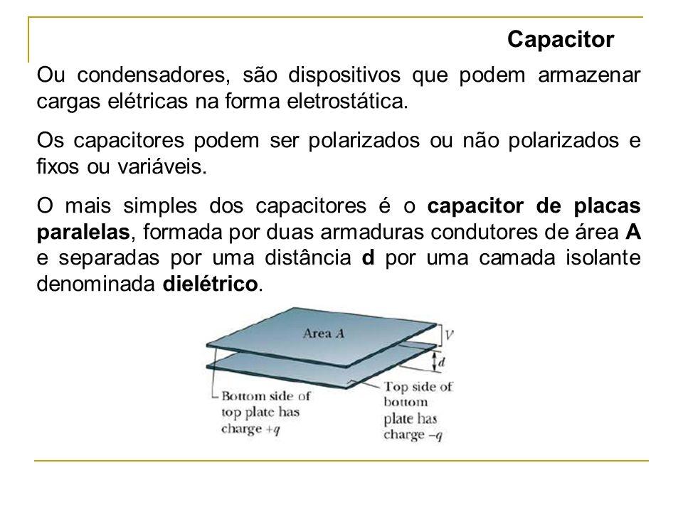 Forma construtiva do capacitor