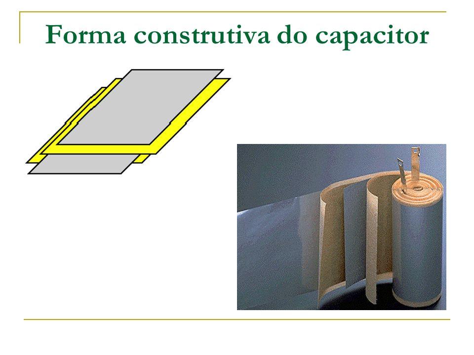 Capacitor Quantidade de carga armazenada