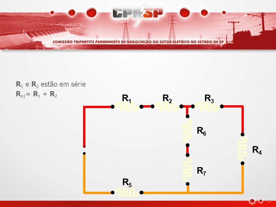 Exemplo de resistência equivalente de um circuito misto