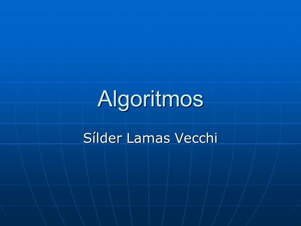 Algoritmos Sílder Lamas Vecchi