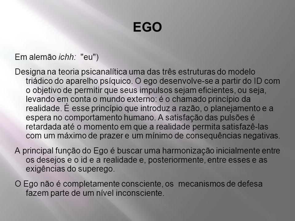 EGO Em alemão ichh: