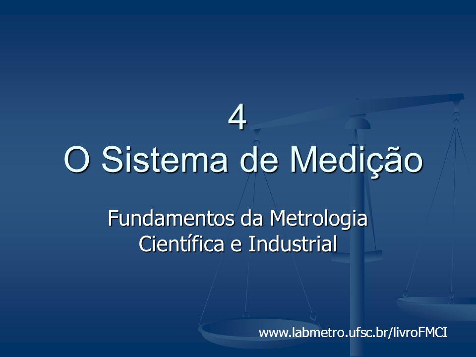 www.labmetro.ufsc.br/livroFMCI 4 O Sistema de Medição Fundamentos da Metrologia Científica e Industrial