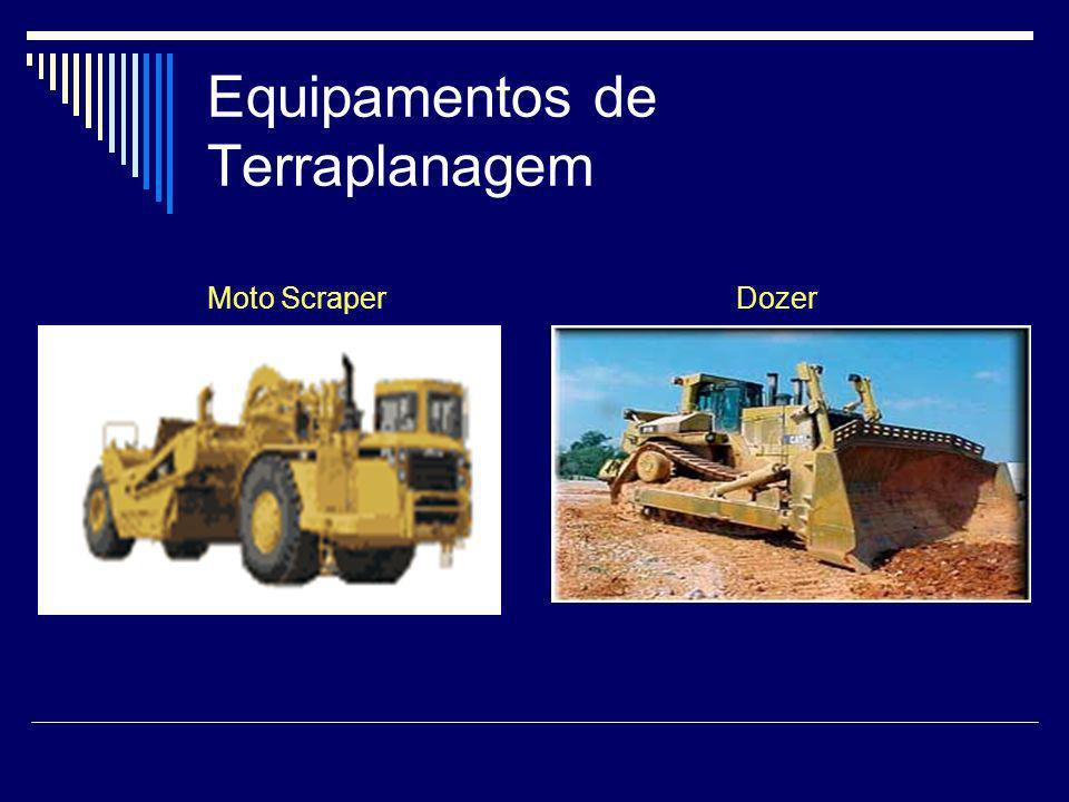 Equipamentos de Terraplanagem Moto Scraper Dozer