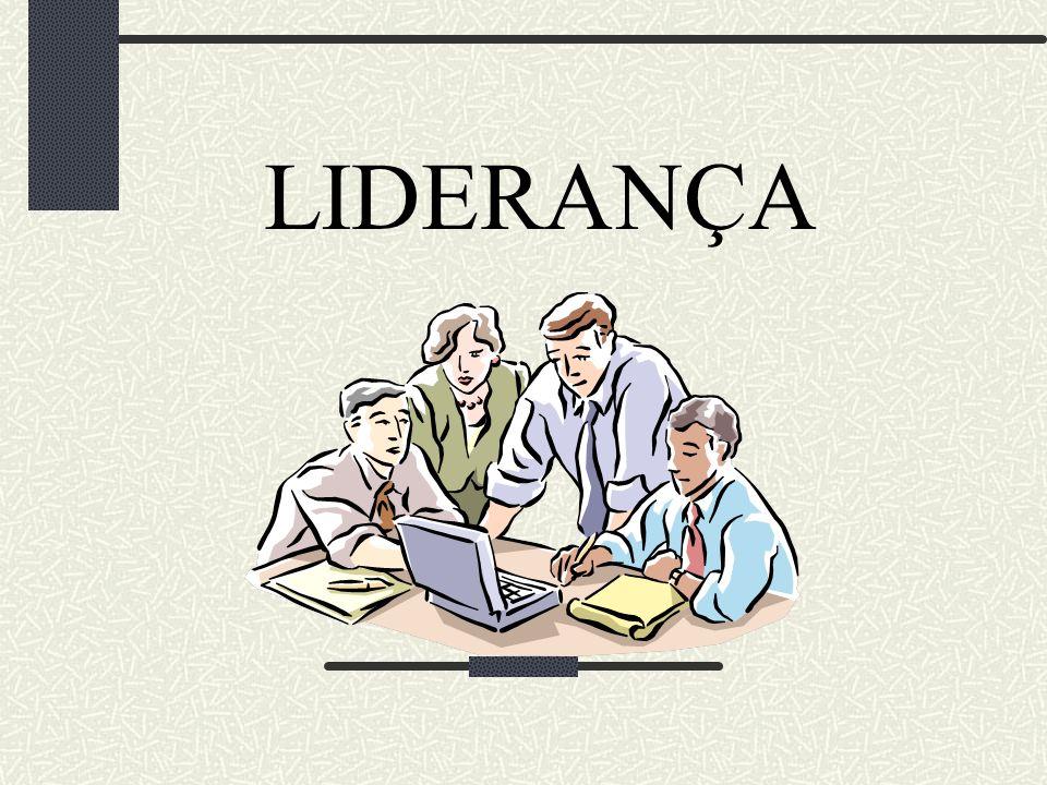 As equipes conduzidas pelo líder formam grupos de trabalho.