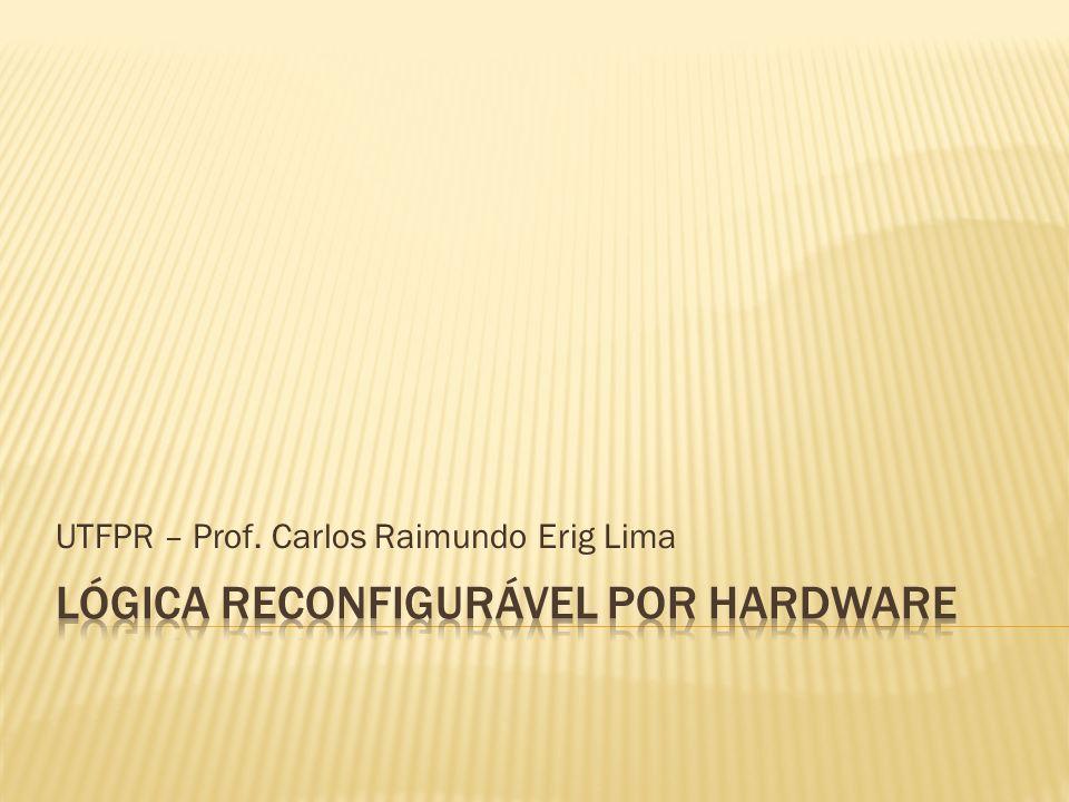 UTFPR – Prof. Carlos Raimundo Erig Lima