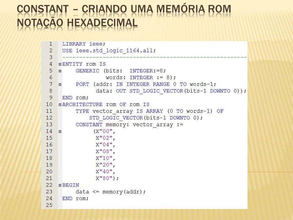 Crie um código VHDL para o circuito da figura.