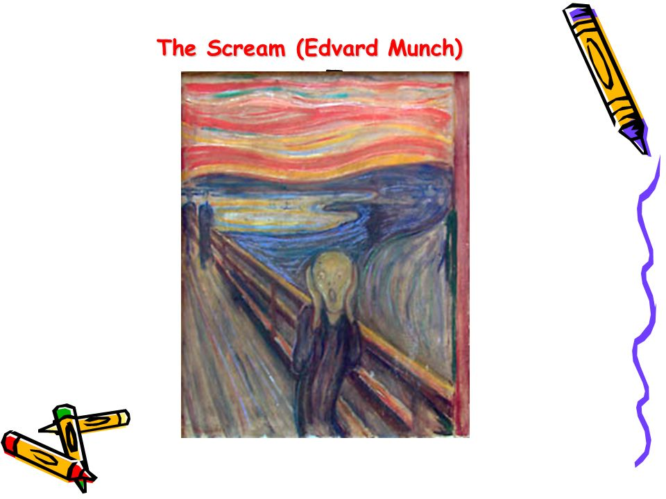 a The Scream (Edvard Munch) T