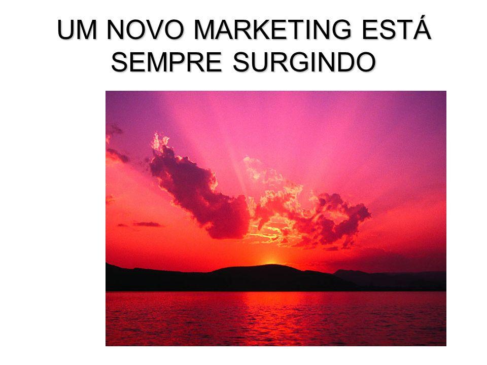 UM NOVO MARKETING ESTÁ SEMPRE SURGINDO