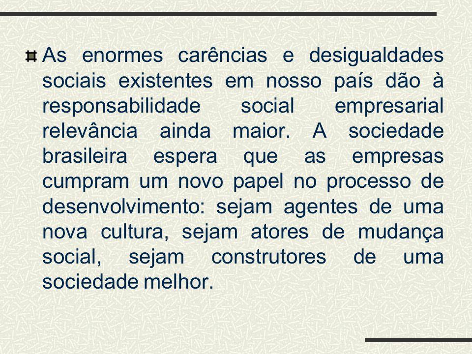 A obtenção de certificados de padrão de qualidade e de adequação ambiental, como as normas ISO, por centenas de empresas brasileiras, também é outro s