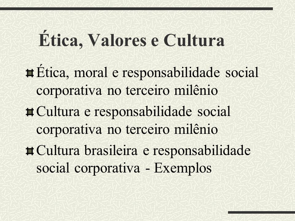 Público Interno A empresa socialmente responsável não se limita a respeitar os direitos dos trabalhadores, consolidados na legislação trabalhista e no
