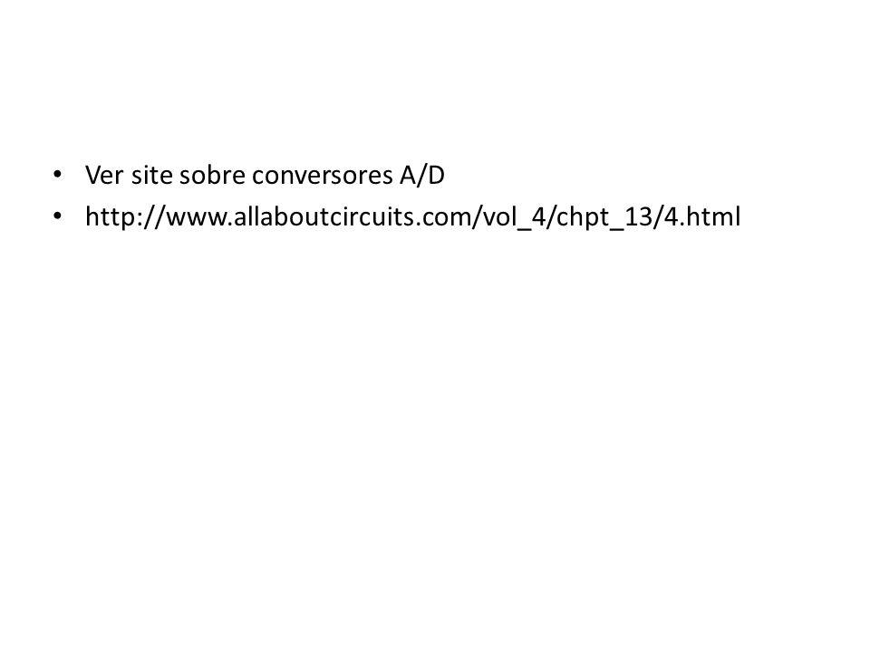 Ver site sobre conversores A/D http://www.allaboutcircuits.com/vol_4/chpt_13/4.html