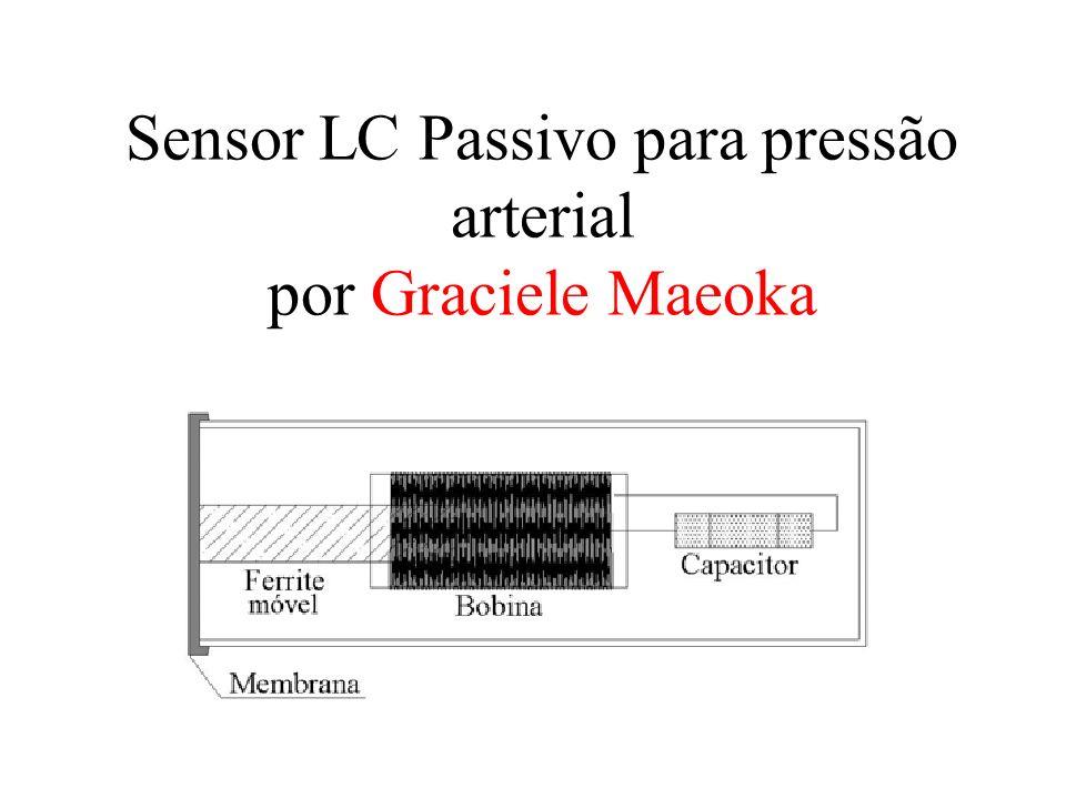 Sensor LC Passivo para pressão arterial por Graciele Maeoka