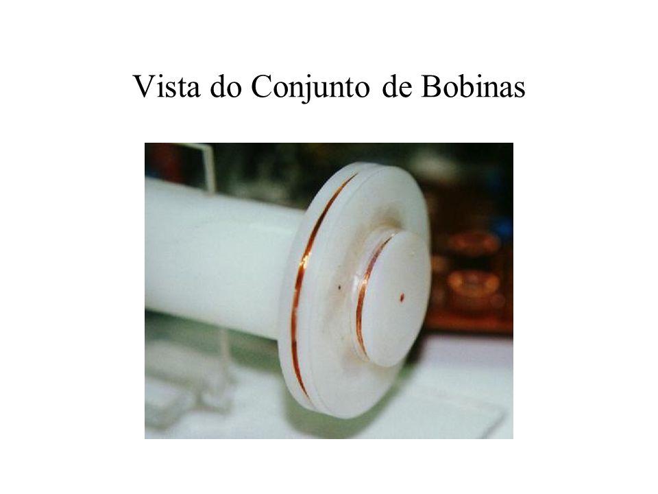 Vista do Conjunto de Bobinas